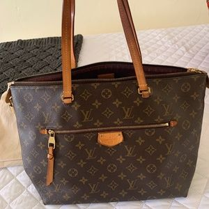 USED Louis Vuitton- Monogram Iena MM